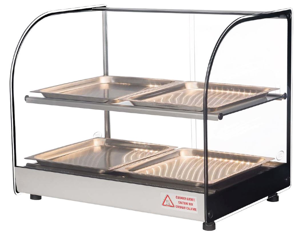 Celcook Heated Display Cases - CHD-22CLIO - Clio Line