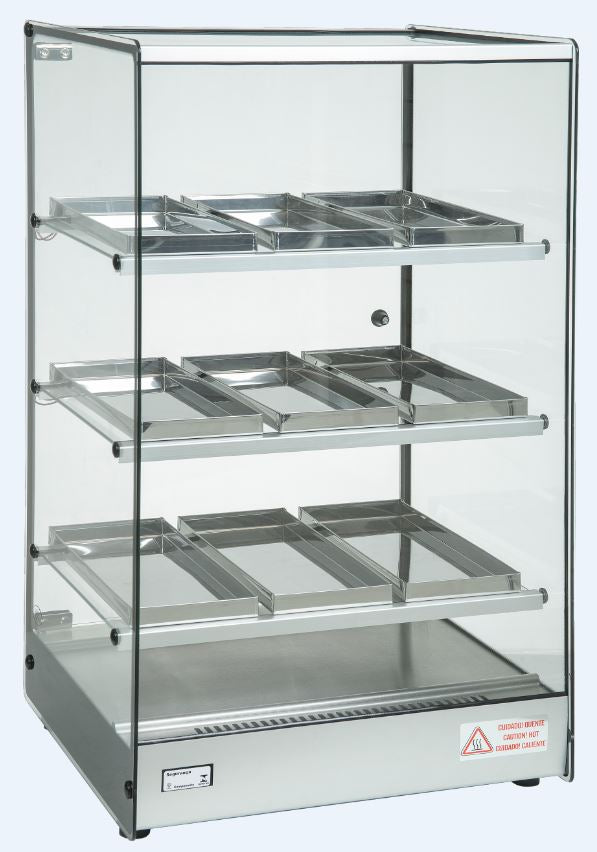 Celcook Heated Display Cases - CHD-TOWER - Erato Line