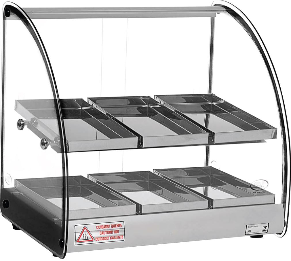Celcook Heated Display Cases - CHD2-19ACL - ACL Line