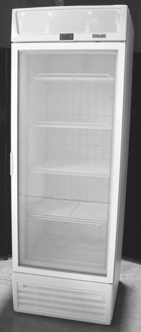 Celcold - CUF17GD Upright Display Freezer