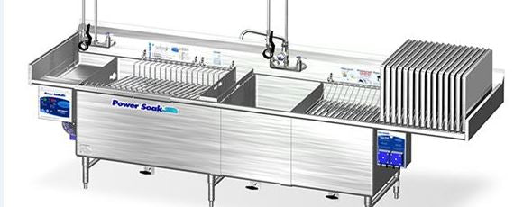 Powersoak - Continuous Motion Ware-Washing Systems