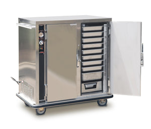 Mobile Heated Holding Cabinet for Bulk Foods - PS-1220-20