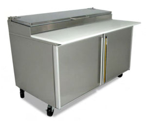 "Silver King - SKPZ60-FSUS10 - 60"" Refrigerated Pizza Prep Table"