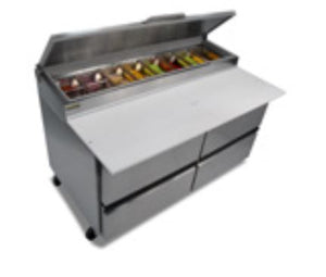 "Silver King - SKPZ60-FDUS10 - 60"" Pizza Prep Table with Drawers"