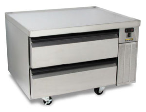 "Silver King - SKRCB38H-RDUS10 - 38"" H-Series Refrigerated Chef Base"
