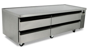 "Silver King - SKRCB79H-RD - 79"" H-Series Refrigerated Chef Base"