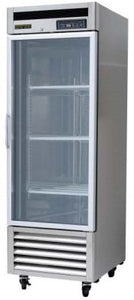 "Silver King - SKRU27-EGUS1 - 27"" Upright Fridge with Glass Door"