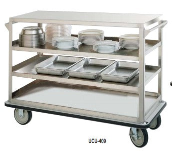 Heavy-Duty Stainless Steel Utility Cart Queen Mary - UC-609