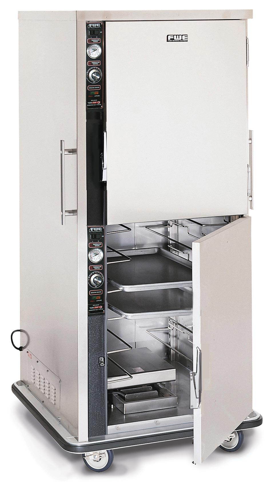 Mobile Heated Holding Cabinet for Bulk Foods - TS-1826-7-7