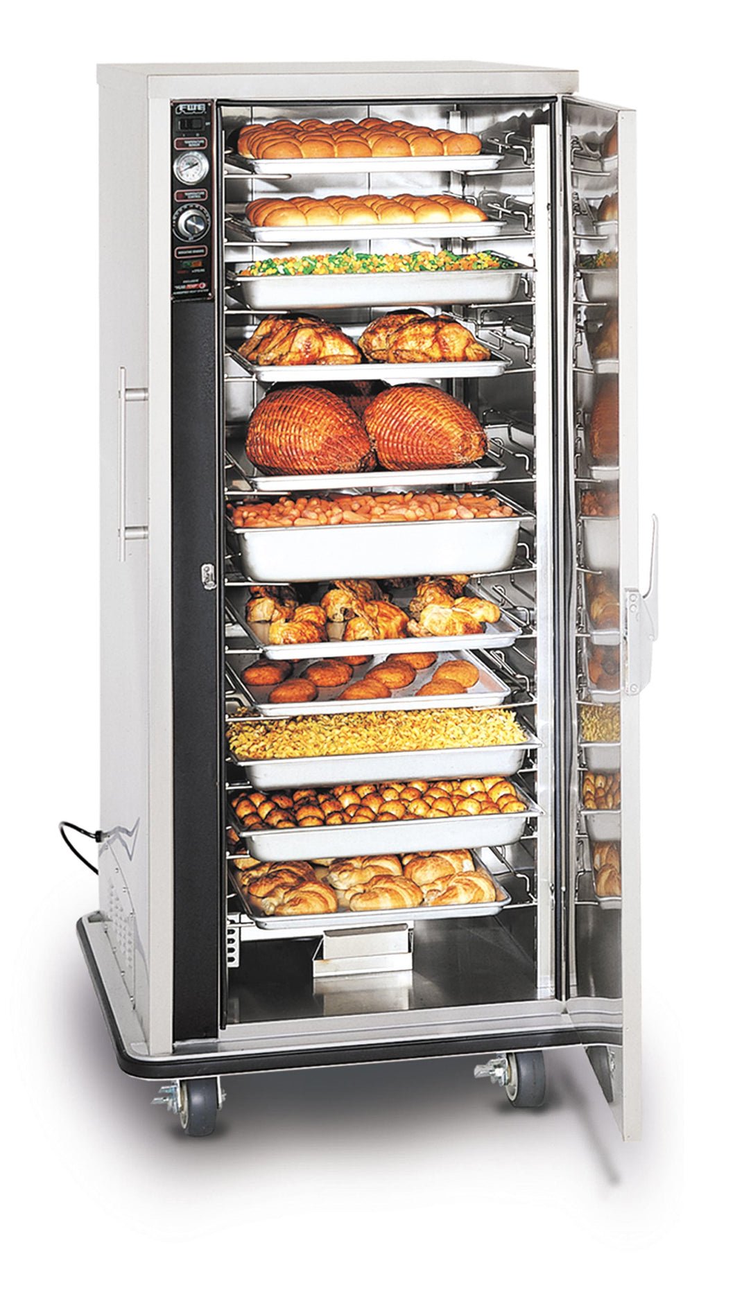 Mobile Heated Holding Cabinet for Bulk Foods - UHS-12