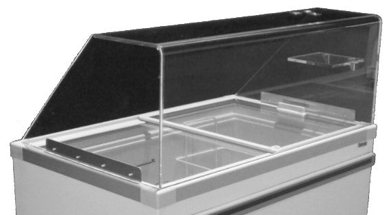 Celcold - Acrylic Food Guard for CF Series Ice Cream Cabinets
