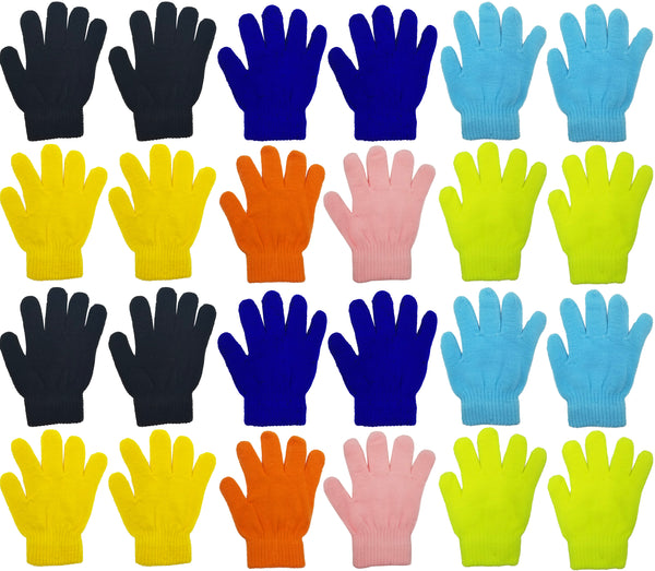 Children's Assorted Magic Gloves (48 Bulk Pack)