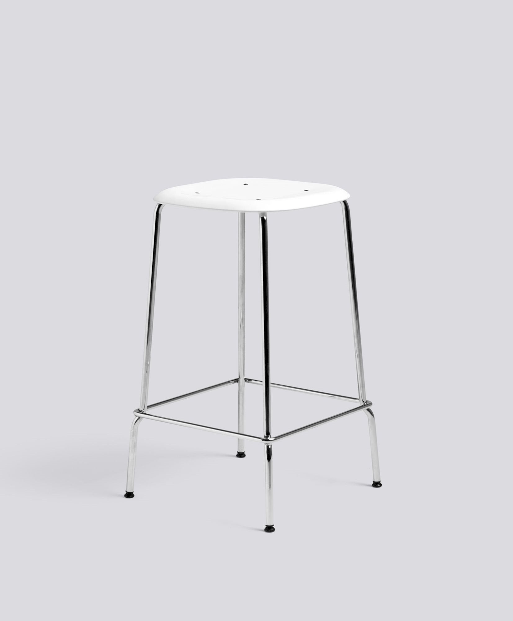 Soft Edge P30 Low Barstool Polypropylene