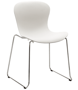 NAP Chair, Stackable, Chrome Sled Base