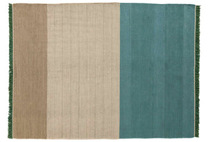 Tres Stripes Green Rug - 200x300cm
