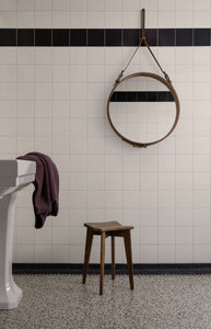 Adnet Mirror Circular - Ø58cm, Saddle