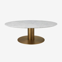 Gubi 2.0 Coffee Table-Ø110 Antique Brass