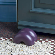 W&S Double Donut Doorstop - Purple
