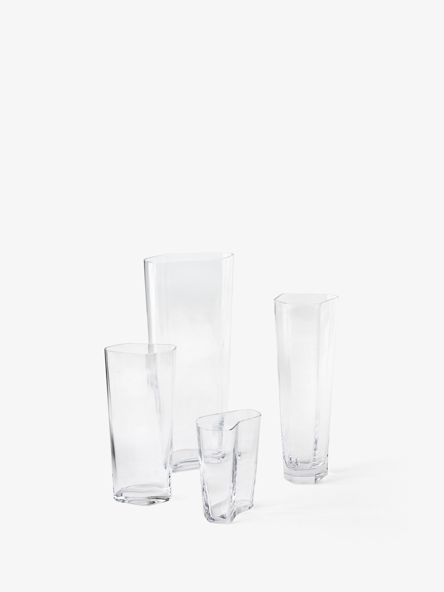 Collect SC37 Glass Vase, Clear