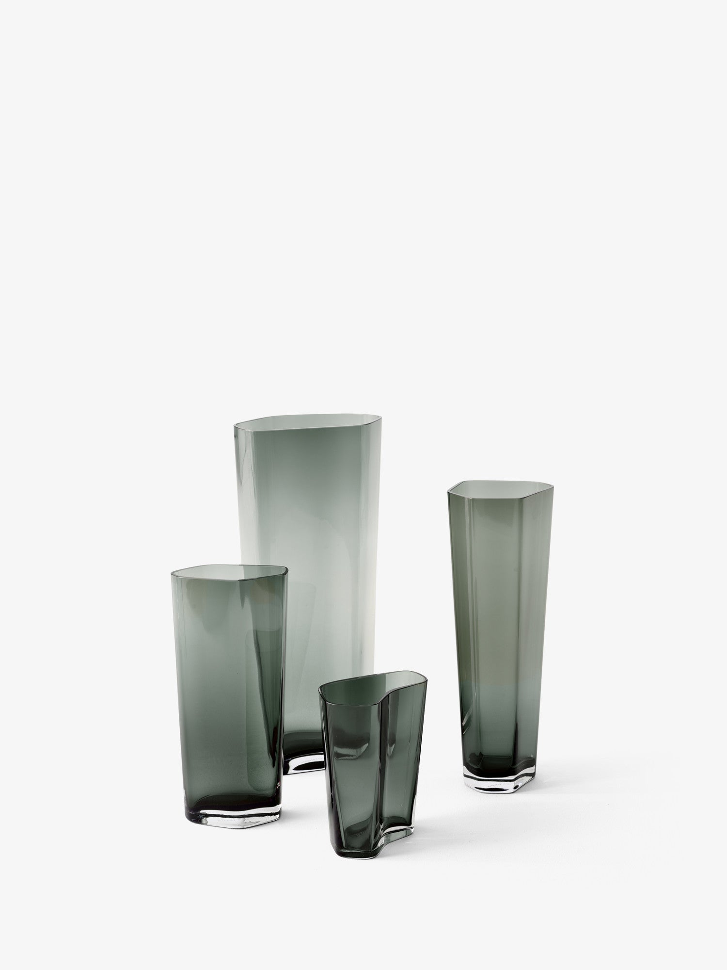 Collect SC36 Glass Vase, Smoked