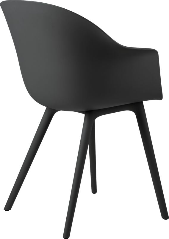 Bat Dining Chair Unupholstered Plastic
