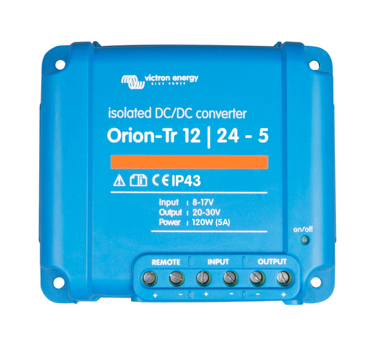 Orion-Tr 24/12-20A (240W) Isolated DC-DC converter - ORI241224110