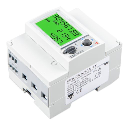 Energy Meter EM24 - 3 phase - max 65A/phase