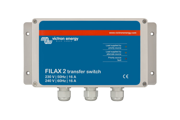 Filax 2 Transfer Switch CE 230V/50Hz-240V/60Hz