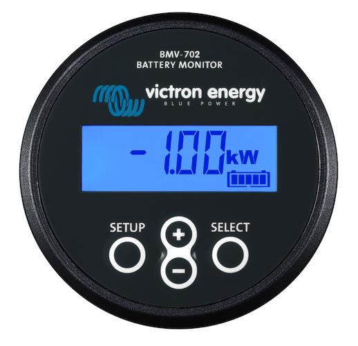 Battery Monitor BMV-702 BLACK Retail