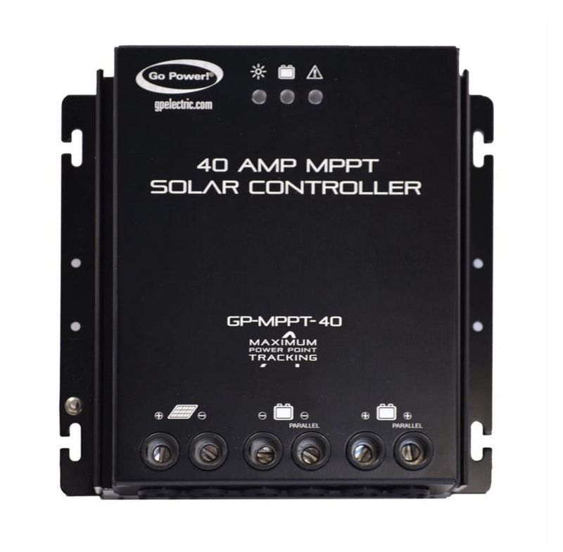 (DISCONTINUED) GO POWER 40 AMP MPPT SOLAR CONTROLLER 150VDC