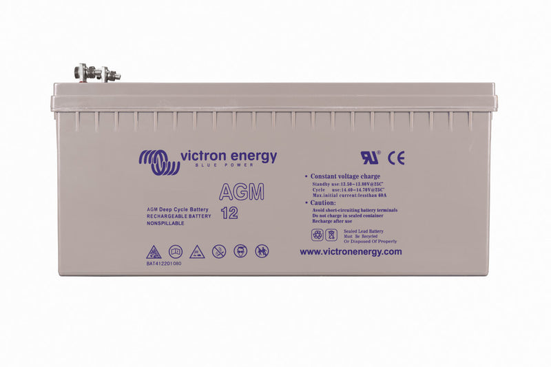 12V/240Ah AGM Deep Cycle Batt. (M8)