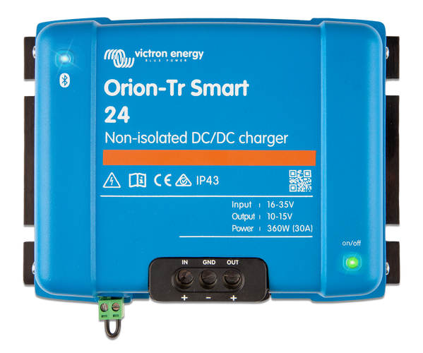 Orion-Tr Smart 24/24-17A (400W) Non-isolated DC-DC charger