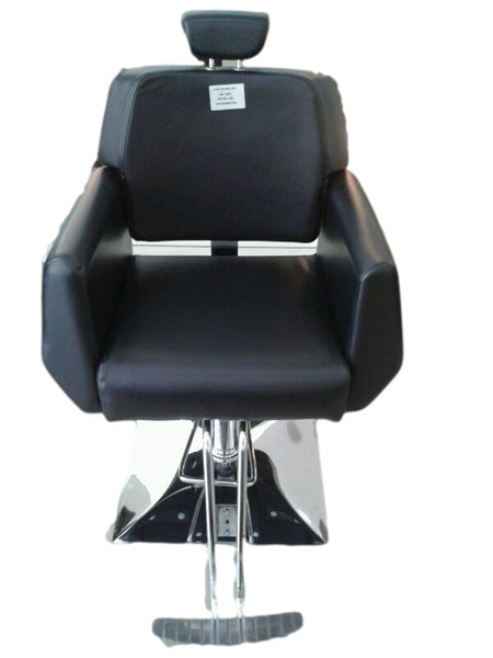 Barber Chair 2041- Reclining Black