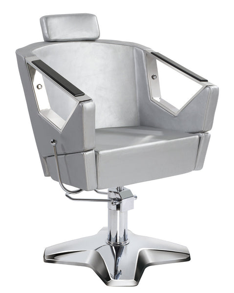 Barber Chair 58005- Reclining Black