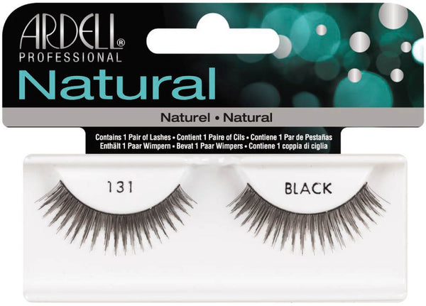 Natural Strip Lashes131 Black