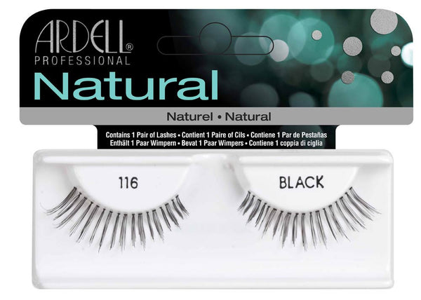 Natural Strip Lashes116 Black