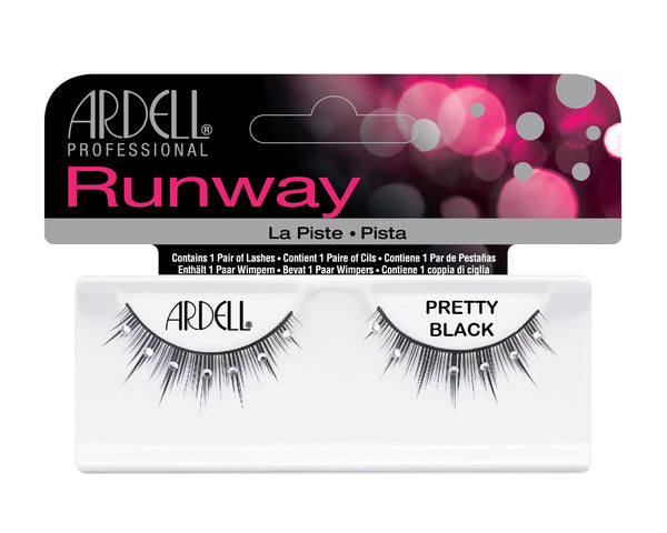 Runway Pretty Black Eye Lashes- 65036