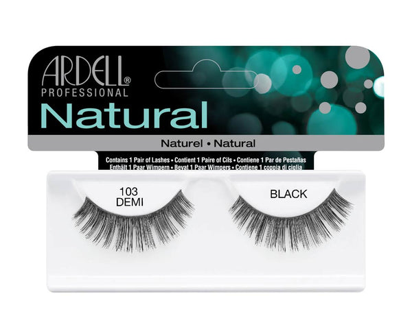 Natural Strip Lashes103 Black