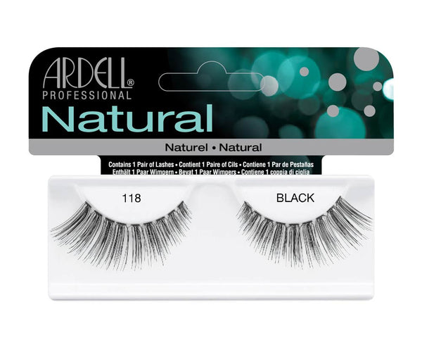 Ardell Natural 118 Black (65091) - 61810