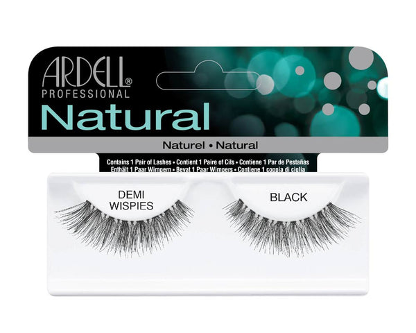 Natural Strip Lashes120 Demi Black