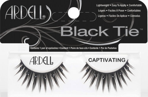 Ardell False Black Tie Eye Lash- Captivating (61523)