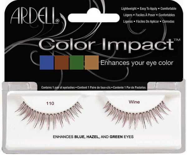 Ardell False Eyelash Color Impact110 Plum- 61844