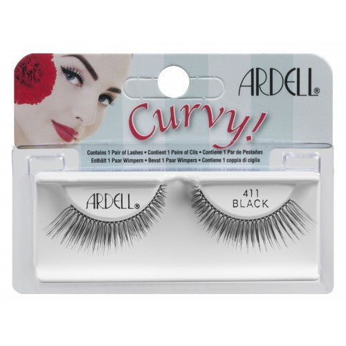 Ardell False Eyelash Curvy 411- 61555