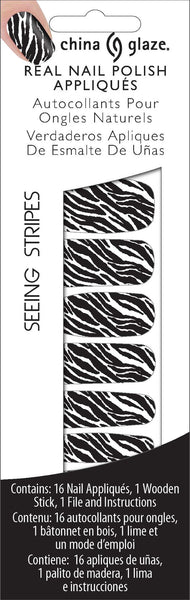 Appliques Seeing Stripes- 80530