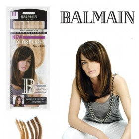 Color Flash Human Hair 40cm - Sun Brust
