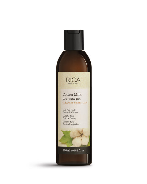 Rica Cotton Milk Pre - Epil Gel - 250 ml