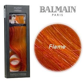 Double Hair Colour Single Pack 30cm- Flame