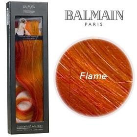 Double Hair Colour Single Pack 40cm- Flame