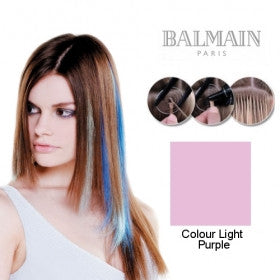 Extension Fiber Hair Straight Plusbond Light Purple - 10 Unit