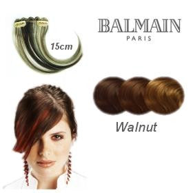 Hair Make Up 1pc Colorfringe 15 cm- Walnut